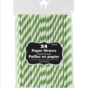 Light Green Paper Straws