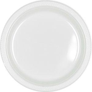 White Plastic Banquet Plates