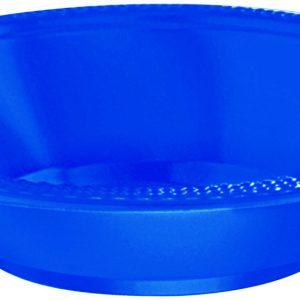 Blue Plastic Bowls
