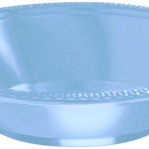 Pastel Blue Plastic Bowls