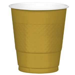 Gold Plastic Cups