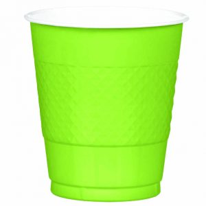 Light Green Plastic Cups