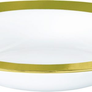 Premium Gold and White Bowls