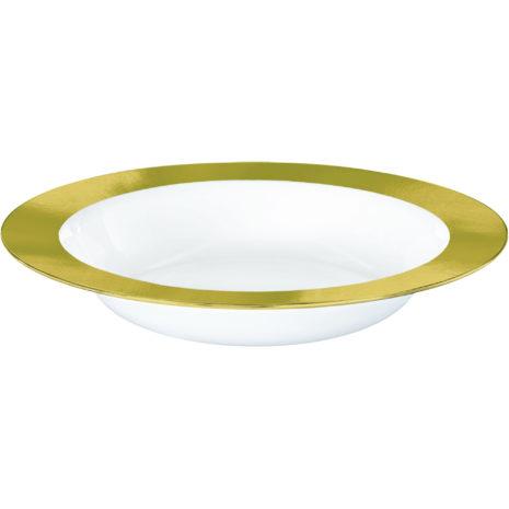 Premium Gold and White Bowls