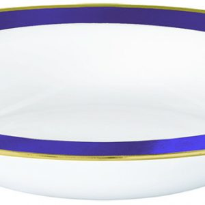 Premium Purple and White Bowls