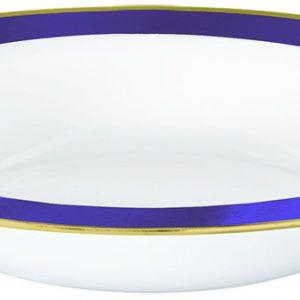 Premium Purple and White Bowls