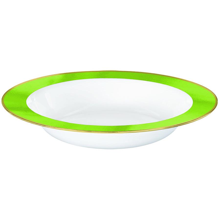 Premium Light Green and White Bowls
