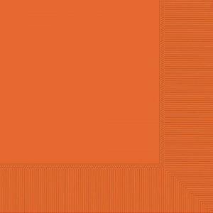 Orange Beverage Napkins