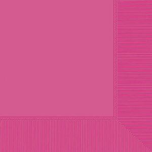 Bright Pink Beverage Napkins