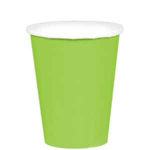 Light Green Paper Cups