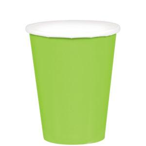 Light Green Paper Cups