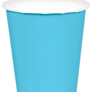 Light Blue Paper Cups