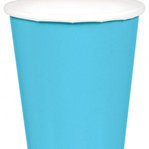 Light Blue Paper Cups