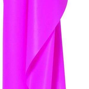 Bright Pink Plastic Table Roll