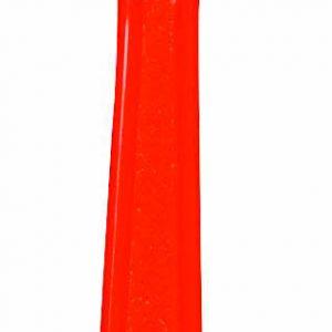 Orange Plastic Spoons