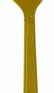 Gold Plastic Spoons