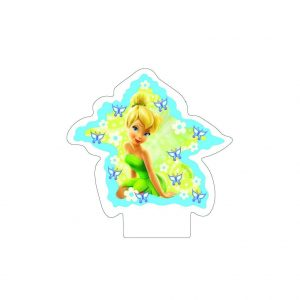 Fairies Flat Candle