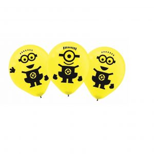 "Despicable Me 12"" Latex Balloons"