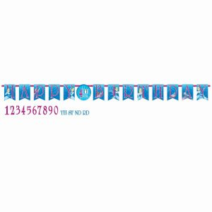 Cinderella Jumbo Add-An-Age Letter Banner