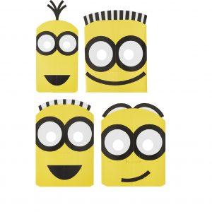 Despicable Me Paper Masks