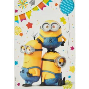 Despicable Me Folded Loot Bags
