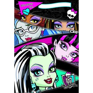 Monster High Folded Loot Bags