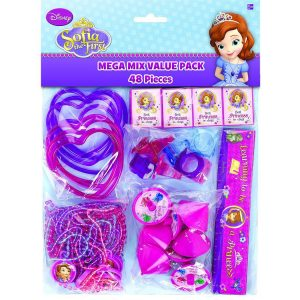 Sofia The First Mega Mix Value Favour Pack