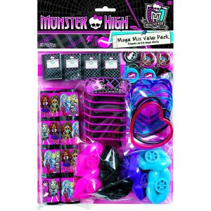Monster High Mega Mix Value Favour Pack