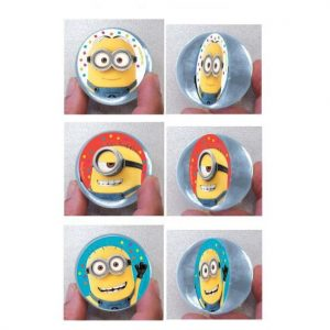 Despicable Me Bounce Ball Favours