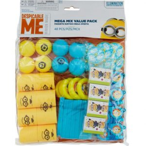Despicable Me Mega Mix Value Favour Pack