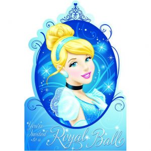 Cinderella Postcard Invitations