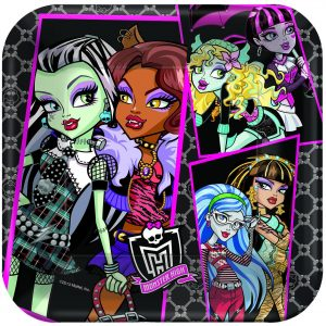 "Monster High 9""/23cm Square Plate"