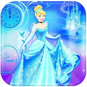 "Cinderella 9""/23cm Square Plate"
