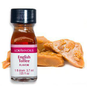 LorAnn Oils English Toffee Flavouring 3.7ml
