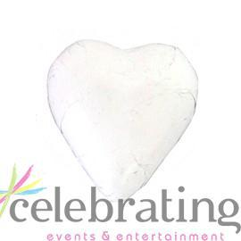 Milk White Chocolate Hearts 1kg 120 pieces