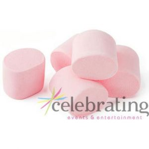 Large Pink Marshmallows 1kg