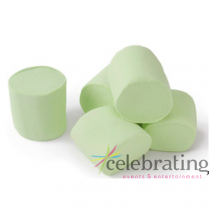 Large Pastel Green Marshmallows 1kg