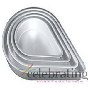 """14"""" Tear Drop Cake Pan"""