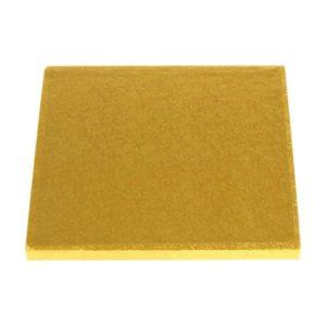 """15"""" Gold Square Masonite Cake Boards"""