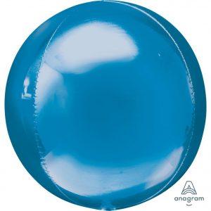 Blue Orbz Foil Balloon