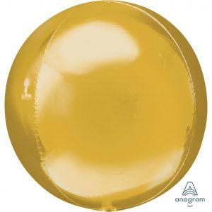 Gold Orbz Foil Balloon