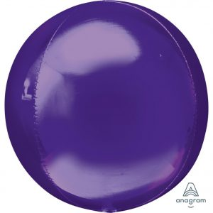 Purple Orbz Foil Balloon