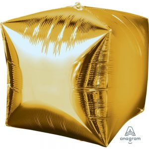 Gold Cubez Foil Balloon