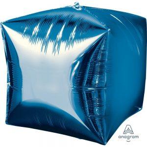 Blue Cubez Foil Balloon