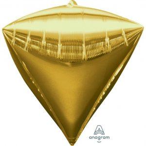 Gold Diamondz Foil Balloon