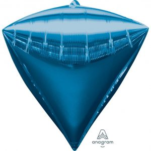 Blue Diamondz Foil Balloon