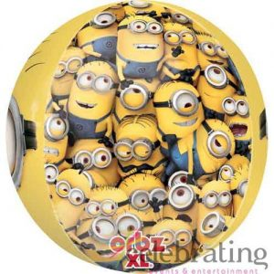"16"" Orbz Despicable Me Minions Foil Balloon"