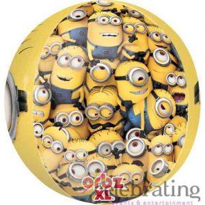 "16"" Orbz Despicable Me Minions Foil Balloon"