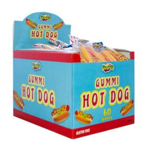 Gummi Hot Dog