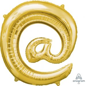 @ Gold Jumbo Foil Balloon